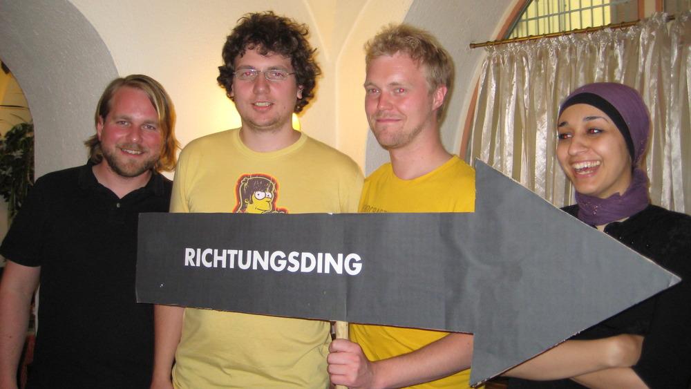V.l.n.r. Harald Gerhäußer, Fabian Wolbing, Jan-Paul Laarmann, Jasamin Ulfat.